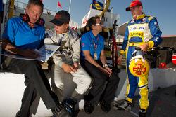 Duarte Ferreira, Bryan Herta Autosport and Bruno Andrade, Bryan Herta Autosport with Bryan Herta