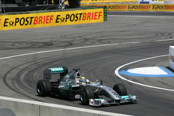 Nico Rosberg Mercedes Grand Prix drives Demo laps