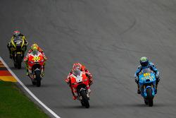 Nicky Hayden, Ducati Team, Alvaro Bautista, Rizla Suzuki MotoGP