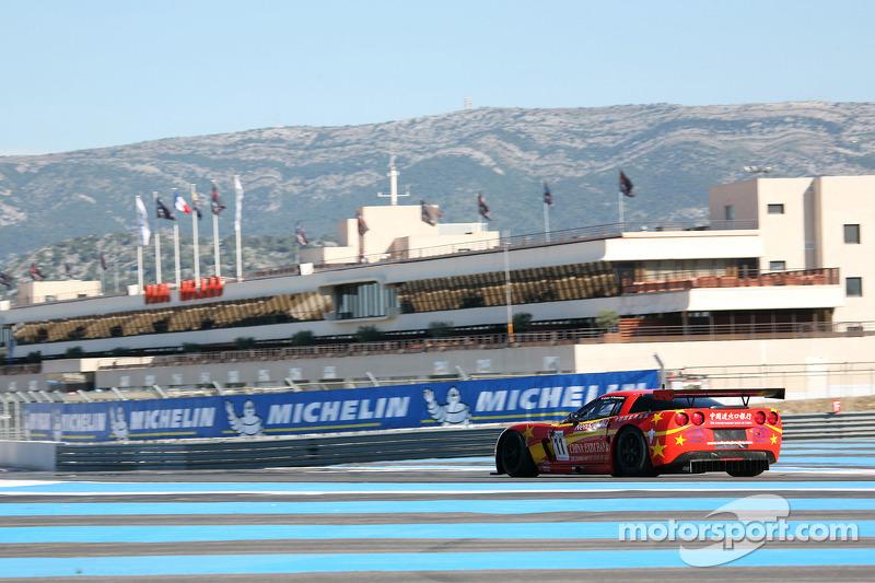 #11 Exim Bank Team China Corvette Z06: Mike Hezemans, Andres Zuber