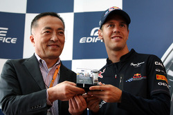 The launch of the new Casio Edifice, Sebastian Vettel, Red Bull Racing