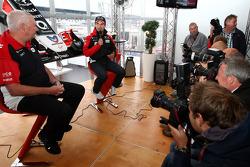 John Booth, Marussia Virgin Racing Sporting Director, Timo Glock, Marussia Virgin Racing extends his contract with Virgin Racing