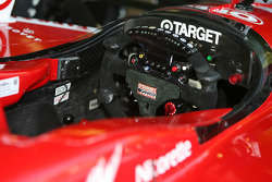 Dallara Honda cockpit