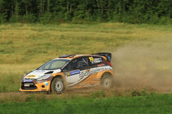 Jari Ketomaa and Miika Teiskonen, Ford Fiesta RS WRC