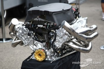 Mercedes engine during Nico Rosberg, Mercedes GP F1 Team 100th race photo