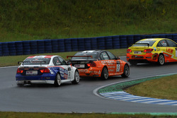 Kristian Poulsen BMW 320 TC, Liqui Moly Team Engstler and Norbert Michelisz BMW 320 TC, Zengo-Dension Team