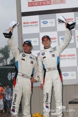 LMGT podium: Dirk Müller, Joey Hand