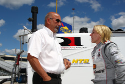 Bobby Rahal and Pippa Mann, Rahal Letterman Lanigan Racing