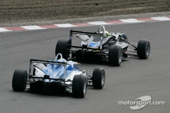 Kimiya Sato, Motopark, Dallara F308 Volkswagen, Carlos Huertas, Carlin, Dallara F308 Volkswagen