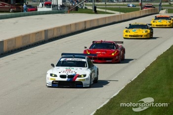 #56 BMW Team RLL BMW E92 M3: Dirk Mueller, Joey Hand