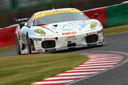 #27 PACIFIC NAC IKAMUSUME Ferrari: Yutaka Yamagishi, Hideki Yamauchi