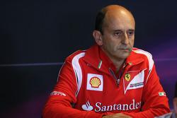 Press conference: Luca Marmorini, Ferrari