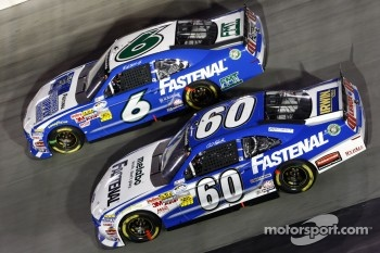 Ricky Stenhouse Jr. and Carl Edwards