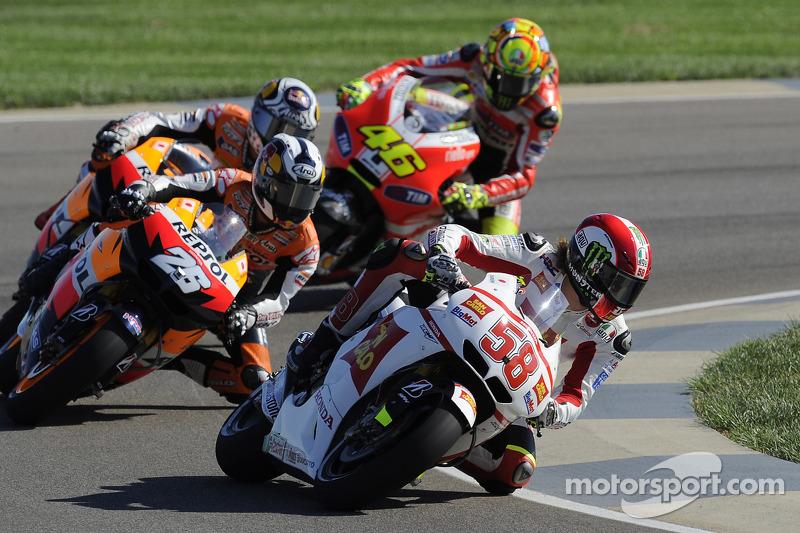 2011: Simoncelli mischt die MotoGP auf