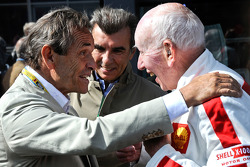 Jacky Ickx and John Surtees