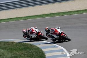 Jorge Lorenzo, Yamaha Factory Racing and Ben Spies, Yamaha Factory Racing