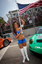 A charming Falken Tire girl