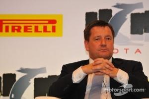 FOTA Fans Forum 2011, Milano: Paul Hembery, Pirelli Motorspor Director