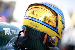 Esteban Gutierrez helmet