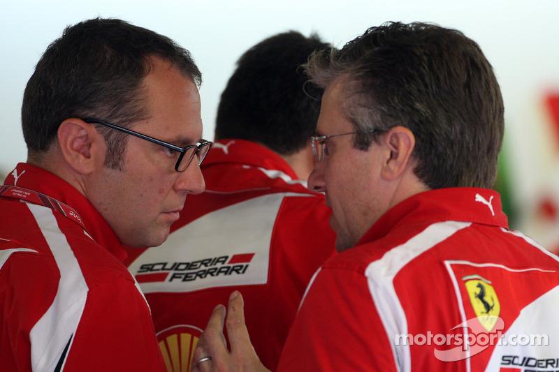 Stefano Domenicali Ferrari f1 Stefano Domenicali Ferrari