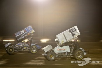 83JR Tim Kaeding, 121 Shane Golobic