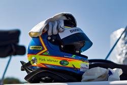 Dirk Werner's helmet