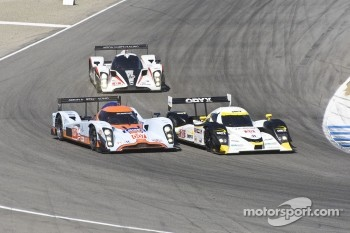 #20 Oryx Dyson Racing Lola B09/86 Mazda: Butch Leitzinger, Humaid Al Masaood, Steven Kane, #007 Aston Martin Racing AMR/Lola Coupe B09/60: Adrian Fernandez, Harold Primat, Stefan Mcke