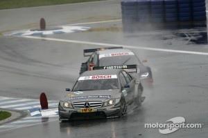 Suspension problems ended Spengler's race