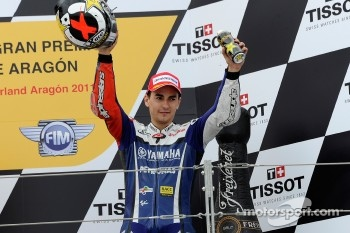 Podium: third place Jorge Lorenzo, Yamaha Factory Racing