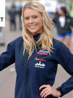 Tech-Speed grid girl