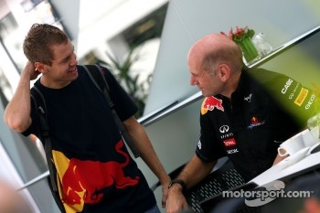 Sebastian Vettel, Red Bull Racing and Adrian Newey, Red Bull Racing, Technical Operations Director