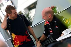 Sebastian Vettel, Red Bull Racing and Adrian Newey, Red Bull Racing, Technical Operations Director