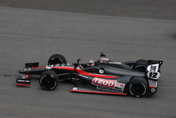 Dan Wheldon tests the 2012 Dallara Indycar