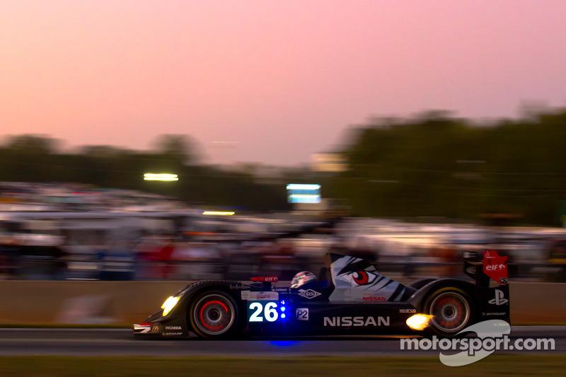 #26 Signatech Nissan Oreca 03 Nissan: Franck Mailleux, Lucas Ordonez, Jean-Karl Vernay