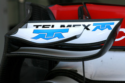 Sauber F1 Team Technical detail front wing