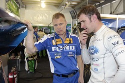 Will Davison and Mika Salo