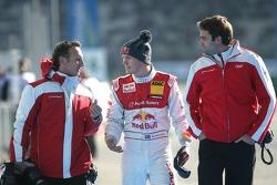 Mattias Ekström, Audi Sport Team Abt, Audi A4 DTM with Alex Stehlig and Marc Schneider Team Abt Audi