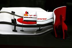 Scuderia Ferrari Technical detail font wing