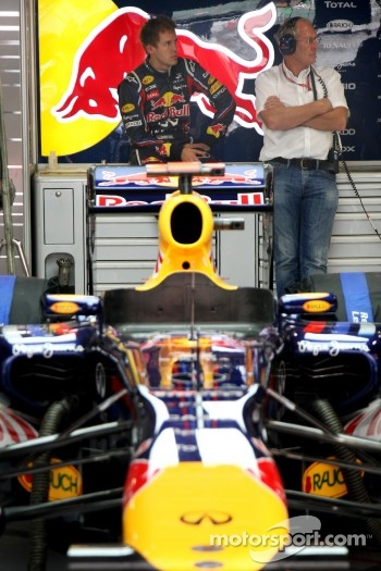 Sebastian Vettel, Red Bull Racing, Helmut Marko, Red Bull Racing, Red Bull Advisor