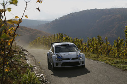 Carlos Sainz tests the new Volkswagen Polo R WRC