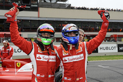 Giancarlo Fisichella and Marc Gene