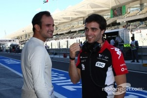 Vitantonio Liuzzi and Jerome d'Ambrosio