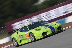 #57 Krohn Racing Ferrari F430: Tracy Krohn, Niclas Jonsson, Michele Rugolo