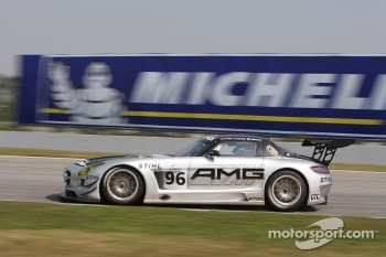 #96 Team AMG China Mercedes SLS AMG GT3: Mika Hakkinen, CongFu Cheng, Lance David Arnold