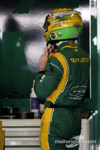 Luiz Razia, Team Lotus