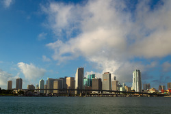 A view of downtown Miami