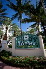 Loews Hotel, Miami Beach, venue for the 2012 Nationwide and Camping World Truck Series Awards Banquet