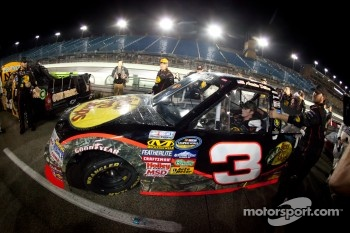 NASCAR Camping World Truck Series 2011 champion Austin Dillon, RCR Chevrolet celebrates