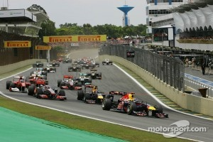 2011 start at Interlagos