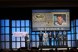 Dale Earnhardt Jr., Jeff Gordon, Denny Hamlin, Ryan Newman, Kyle Busch and Kurt Busch